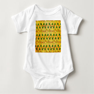 Body Para Bebê Unicórnio tropical da ilha