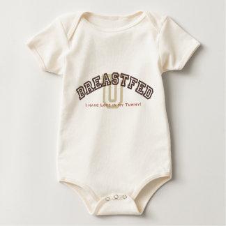 Body Para Bebê Universidade criada ao peito