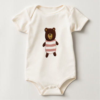 Body Para Bebê Urso