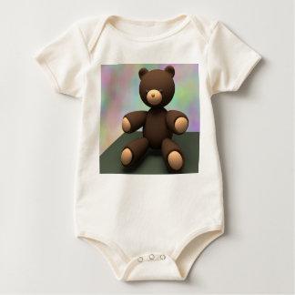 Body Para Bebê Urso de ursinho