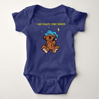 Body Para Bebê Urso de ursinho de Sleepytime eu posso estada de