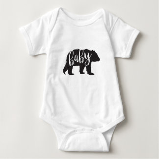 Body Para Bebê Urso do bebê uma parte