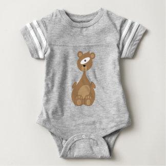 Body Para Bebê Urso do espaço