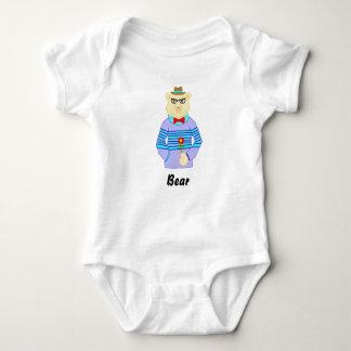 Body Para Bebê urso do geek