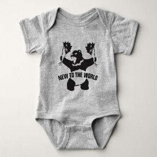 Body Para Bebê Urso do partido