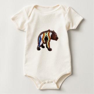 Body Para Bebê Urso nativo