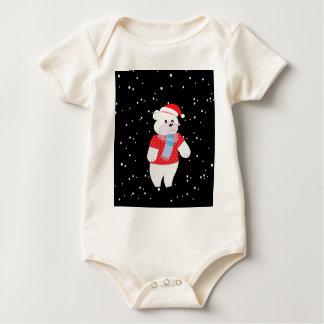 Body Para Bebê urso polar