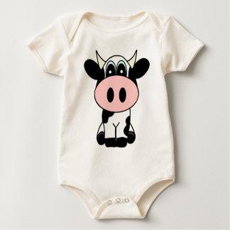 Body Para Bebê Vaca bonito