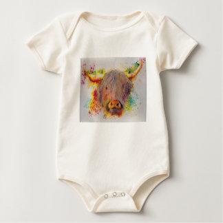 Body Para Bebê Vaca das montanhas