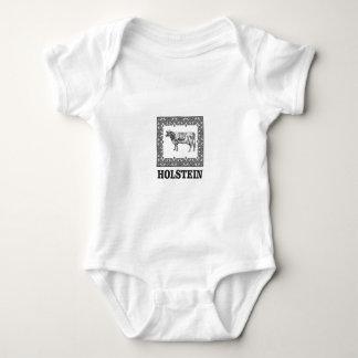 Body Para Bebê Vaca de Holstein