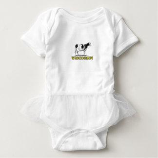 Body Para Bebê Vaca de leiteria de Wisconsin