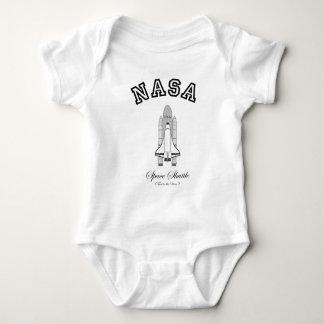 Body Para Bebê Vaivém espacial da NASA: Táxi às estrelas!