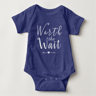Body Para Bebê Valor a espera - adopção - setas - bebê novo