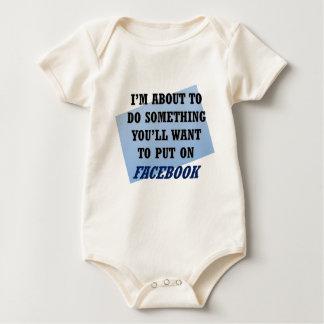 Body Para Bebê Valor de Facebook ou digno