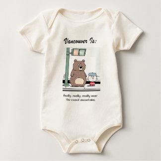 Body Para Bebê Vancôver é: c - pelo harrop