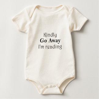 Body Para Bebê Vão amavelmente afastado Im que lêem