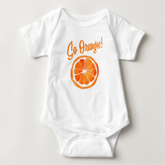 Body Para Bebê Vão as laranjas! Bodysuit
