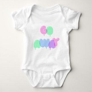 Body Para Bebê Vão as letras ausentes da bolha