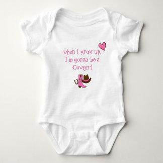 Body Para Bebê Vaqueira do bebê