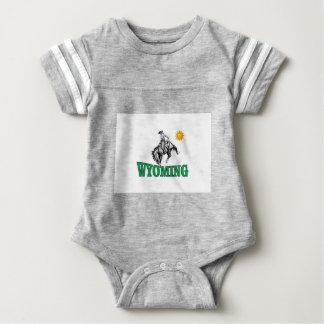 Body Para Bebê Vaqueiro de Wyoming