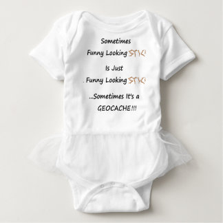 Body Para Bebê Vara ou Geocache