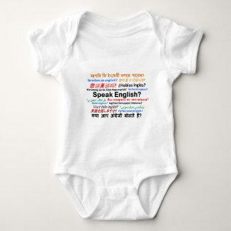 Body Para Bebê Vários produtos da língua - fale o inglês?