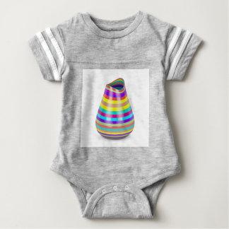 Body Para Bebê Vaso listrado
