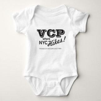 Body Para Bebê VCP onde as caminhadas de NYC vendem