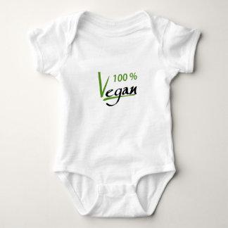 Body Para Bebê Vegan de 100 por cento