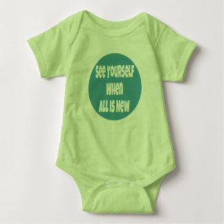 Body Para Bebê Veja-se quando tudo é ligação em ponte de bebê