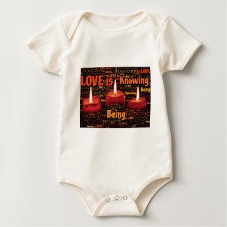 Body Para Bebê vela do amor
