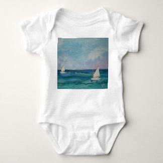 Body Para Bebê Veleiro Babywear do verão