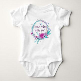 Body Para Bebê Vem a impressão comigo