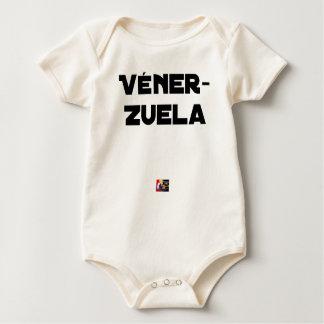 Body Para Bebê VÉNER-ZUELA - Jogos de palavras - François Cidade