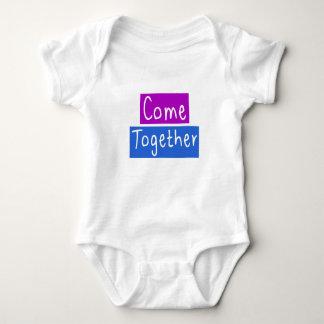 Body Para Bebê Venha junto