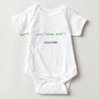 Body Para Bebê Vénia, mundo - bodysuit do bebê