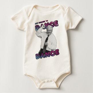 Body Para Bebê Verão quente 1996 da dança da dança de Boris