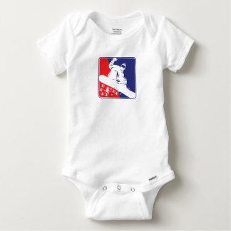Body Para Bebê Vermelho-Branco-e-Azul-Neve-BoA