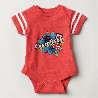 Body Para Bebê VERMELHO cómico do presente do bebê do bodysuit do