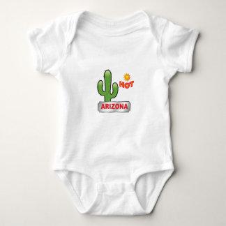 Body Para Bebê Vermelho quente da arizona