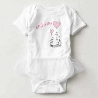 Body Para Bebê Veste do bebê da irmã mais nova