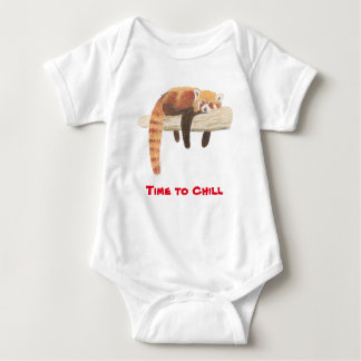 Body Para Bebê Veste do bebê da panda vermelha