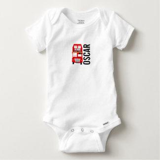 Body Para Bebê Veste do bebê de Gerber do ônibus de Londres