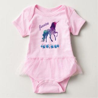 Body Para Bebê Veste do bebê do unicórnio