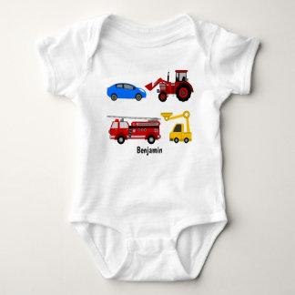 Body Para Bebê Veste dos veículos