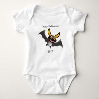 Body Para Bebê Veste feliz do bebê do Dia das Bruxas