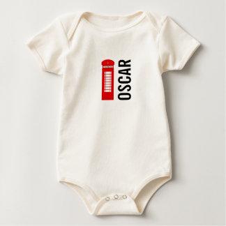 Body Para Bebê Veste orgânica britânica do bebê da caixa de