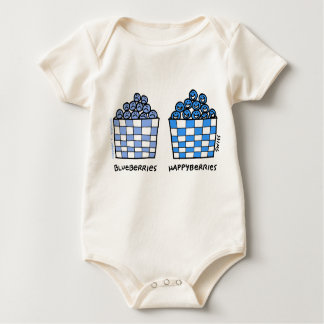 Body Para Bebê Vestuário engraçado bonito do bebê de Happyberries