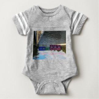 Body Para Bebê via de cintura externa
