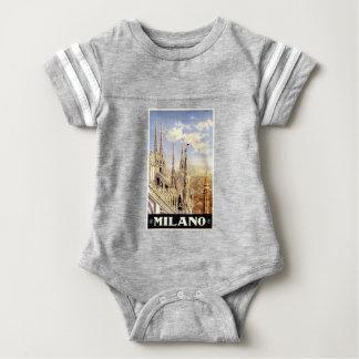 Body Para Bebê Viagem de Palermo do vintage